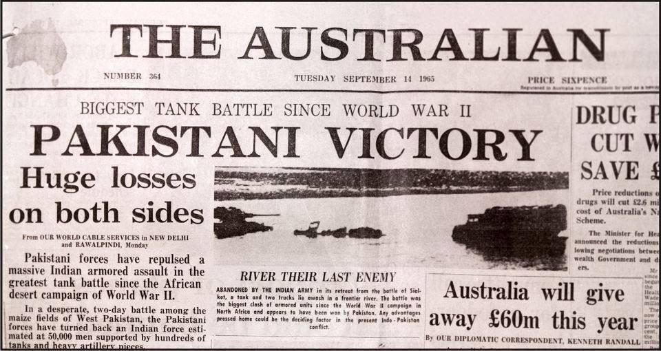 Image result for pak india war 1965