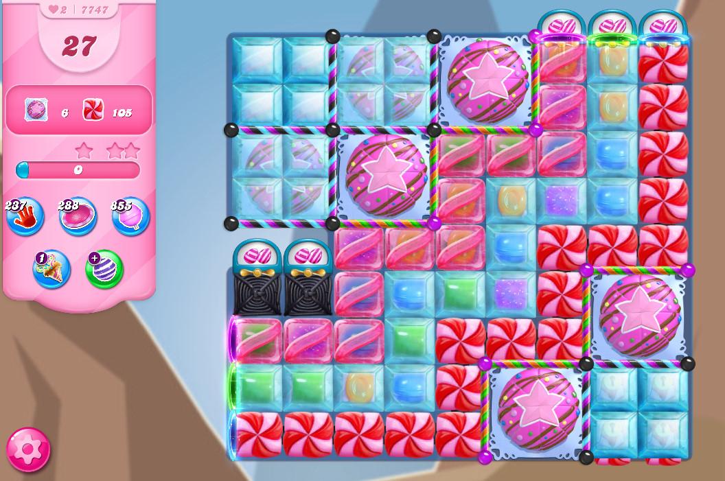 Candy Crush Saga level 7747