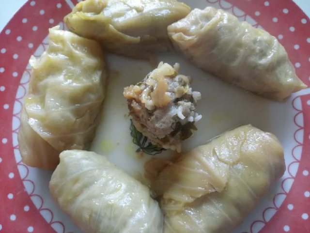 Cabbage Meat Rolls