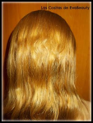 Resultado tinte capilar Glow de kallos cosmetics en Notino