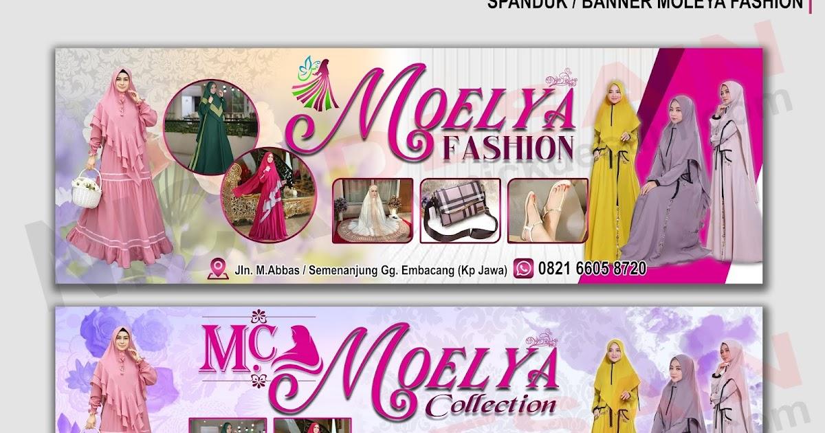 Contoh Desain Mmt Fashion - gambar spanduk