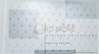 Review of KO BROWS Singapore