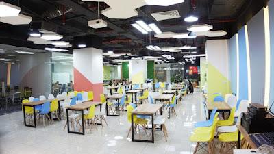 Địa chỉ bán bàn ghế setup văn phòng co-working space tại HCM - 1