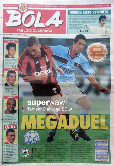 Tabloid BOLA: MEGADUEL