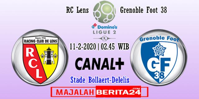Prediksi RC Lens vs Grenoble — 11 Februari 2020