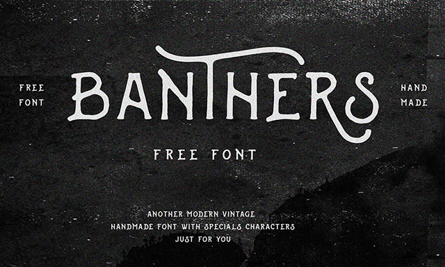 Banthers_Free_Font