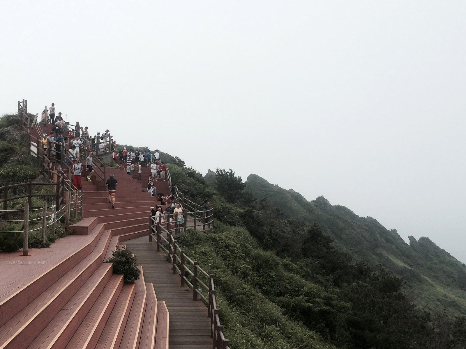 South Korea, Jeju Island, Yonsei University, YISS 2014, Top of Sunrise Peak