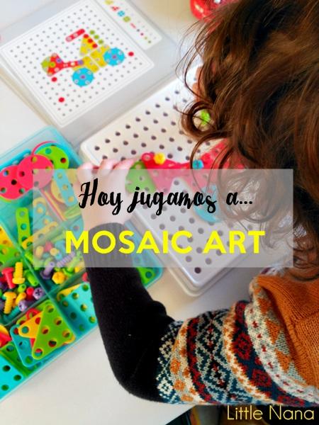 juguetes mosaic art miniland motricidad ninos
