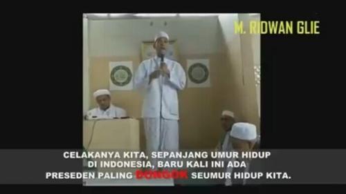 Video Munarman Sebut Presiden Dongok: Tangkap Saya, Menghina Kepala Negara