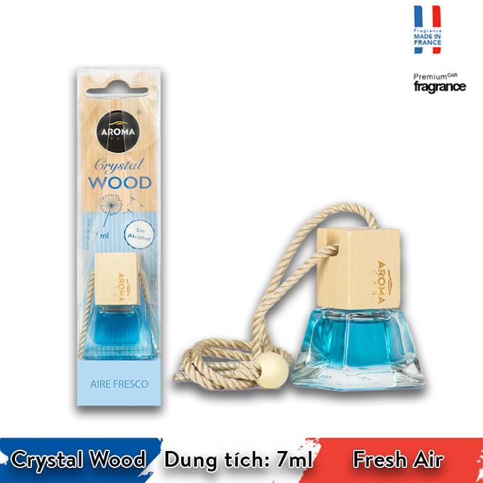 Tinh dầu treo ô tô Aroma Car Crystal Wood 7ml - Fresh Air