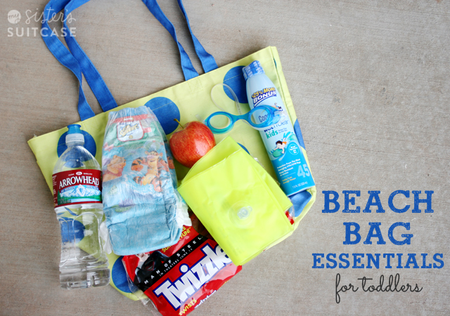 Beach Bag Essentials for Toddlers - My Sister s Suitcase - Packed ... b35c617b86e18