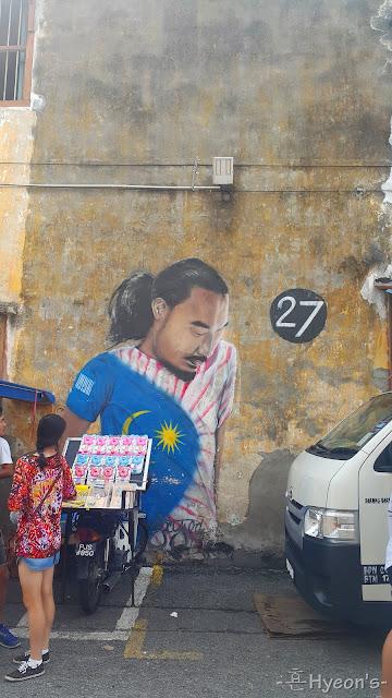 27 street art penang