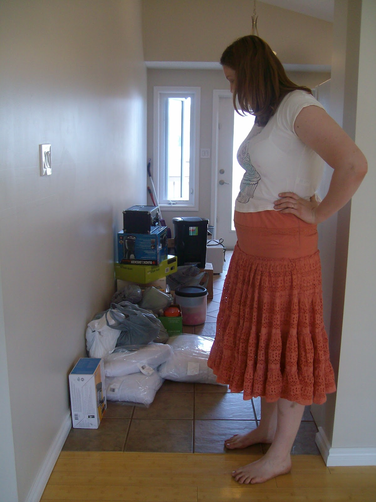 Sierra The Barefoot Girl Moving Day Part 1