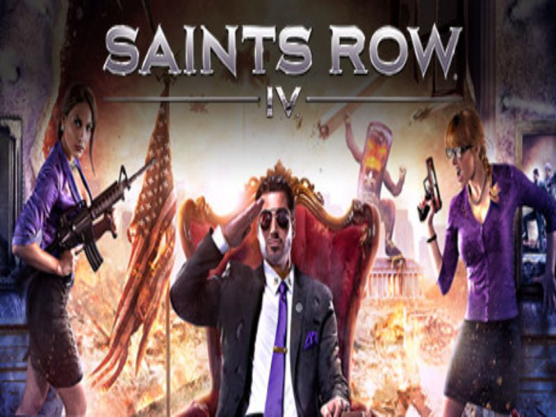 Download Saints Row IV Game PC Free