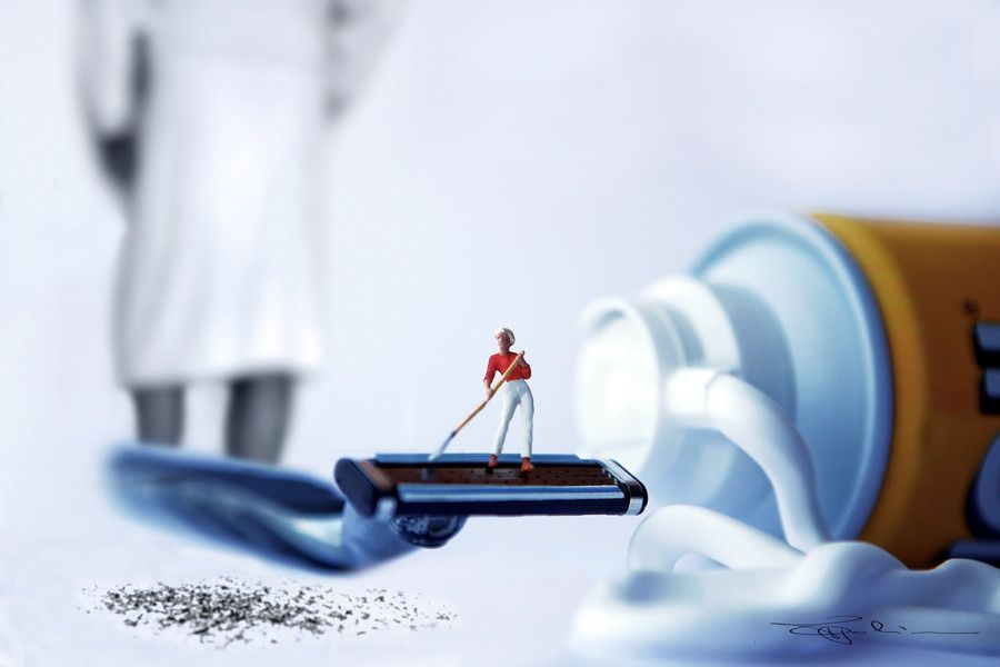 Incredible Miniature world of Miniature People