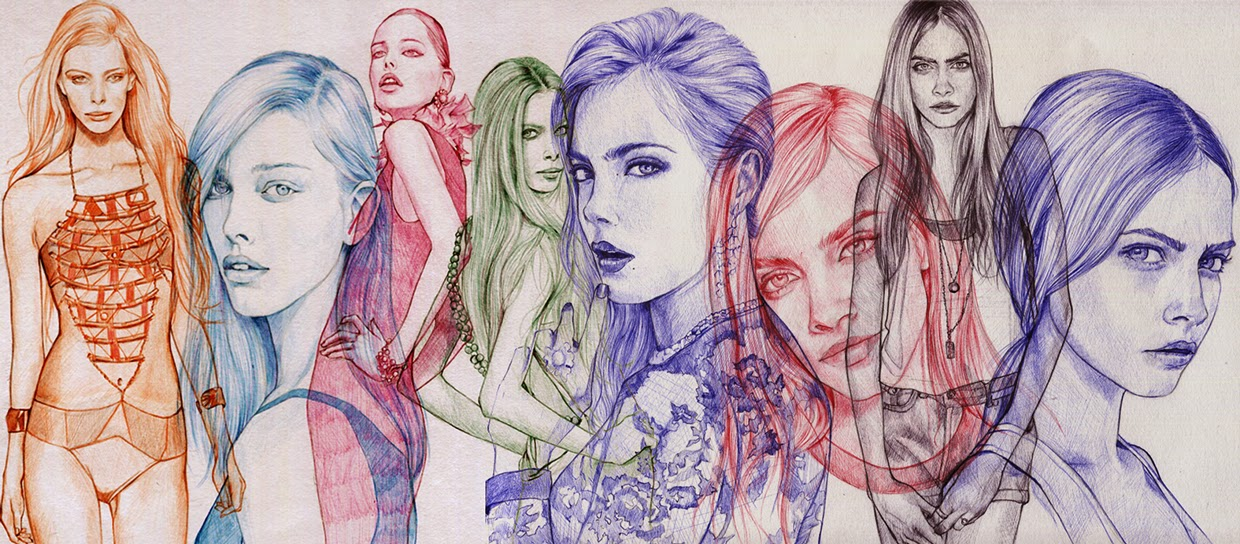 16-Ler-Huang-Ballpoint-Pen-Sketches-&-Drawings-www-designstack-co