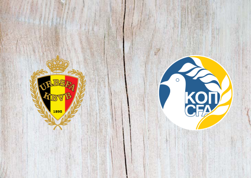 Belgium vs Cyprus Full Match & Highlights 19 November 2019