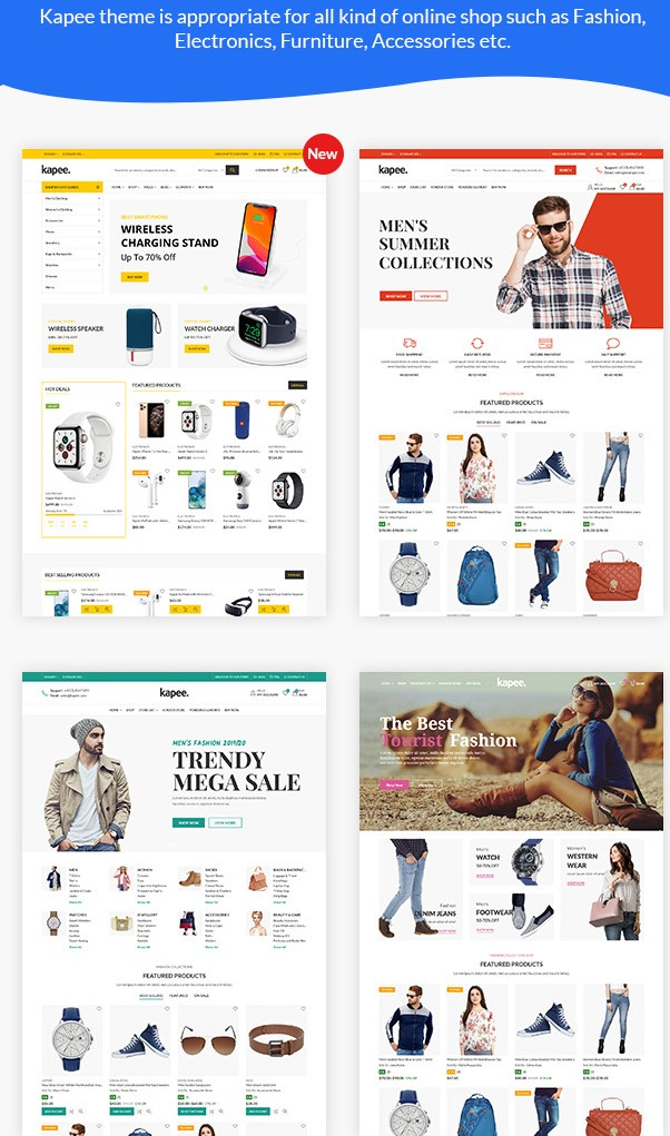 Kapee  Modern Multipurpose Best WooCommerce WordPress Themes