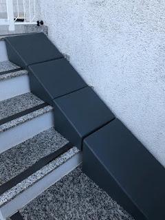 salto em escadas de cães