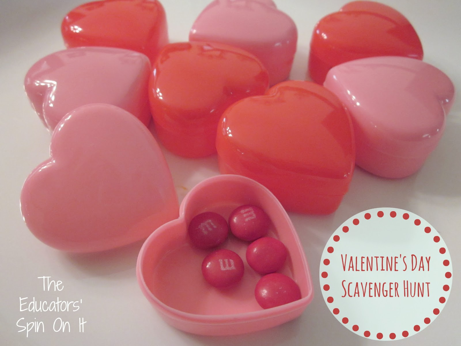 The Educators Spin On It Valentine S Day Scavenger Hunt With Free Printables