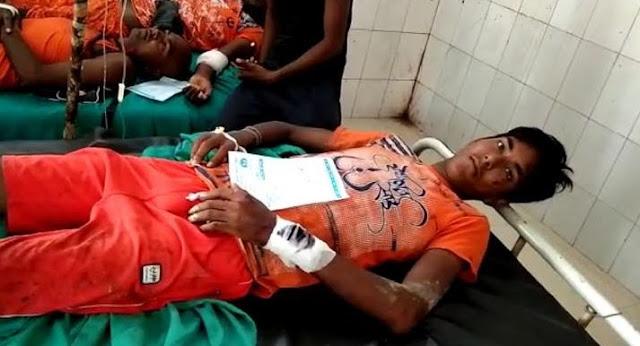 जल घटाकर लौट रहे कांवरियों की पिकअप वैन पलटी, एक की मौत - newsonfloor.com