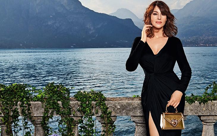 Discover Dolce & Gabbana's Spring Summer 2021 Devotion Bag campaign starring Monica Bellucci