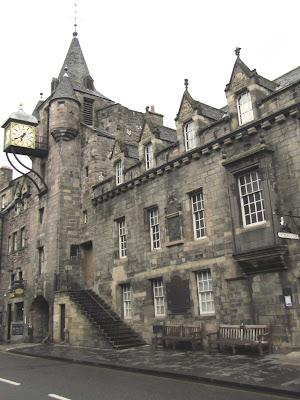 Canongate Tolbooth. Royal Mile. Edimburgo. Edinburgh. Dùn Èideann. Édimbourg. Escocia. Scotland. Alba. Écosse