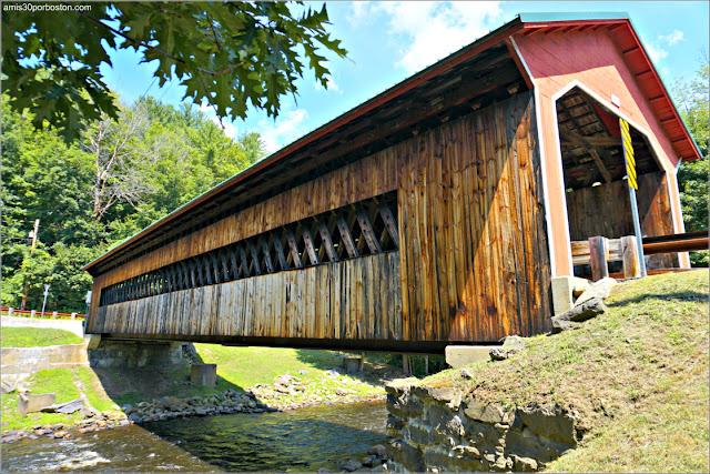 Puentes Cubiertos de Massachusetts: Ware-Hardwick Covered Bridge