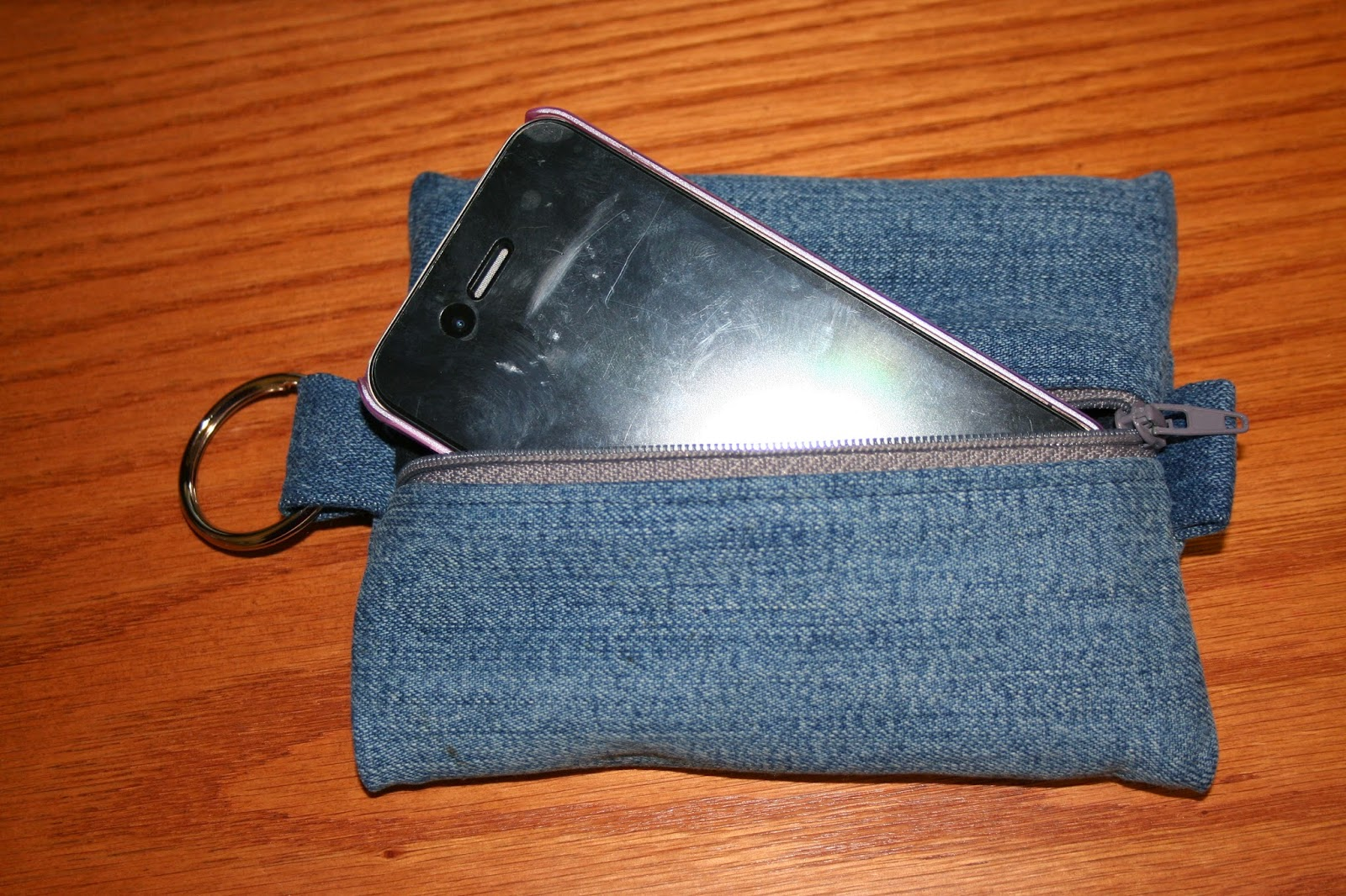 Tammy S Craft Emporium Zippered Cell Phone Case