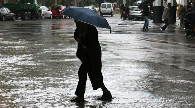 تحذير: من المتوقع هطول أمطار غزيرة محلية يوم الجمعة في عدة مقاطعات