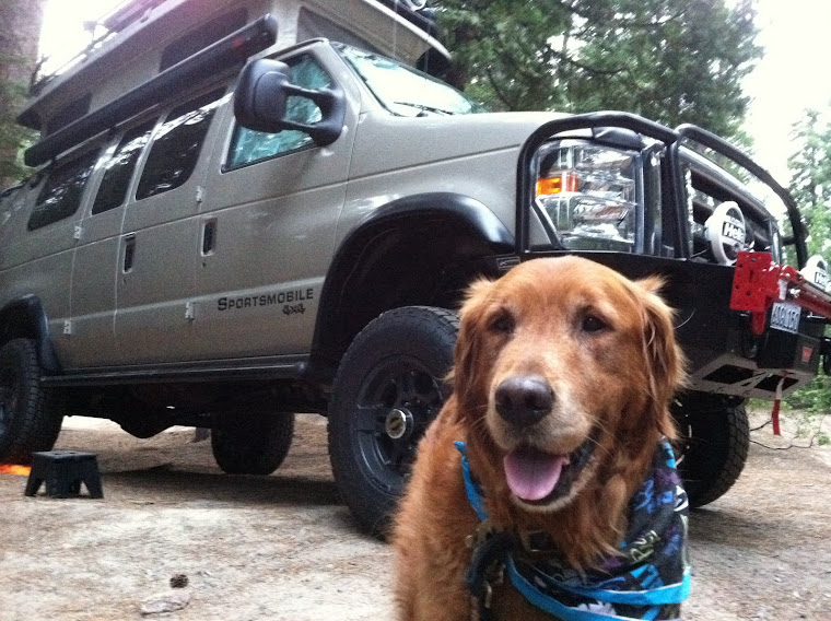 Together With His Mom And Dad He Travels Across The US In Their Awesome Sportsmobile Supervan That Doggy Is SUPERTANK