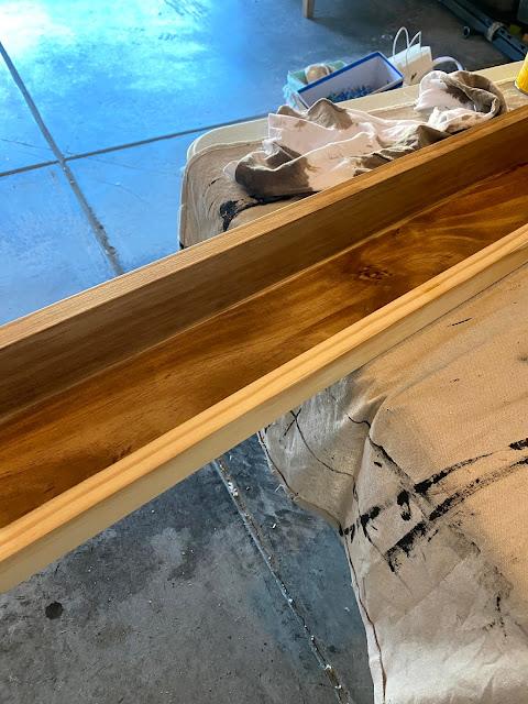 DIY Ledge Shelf