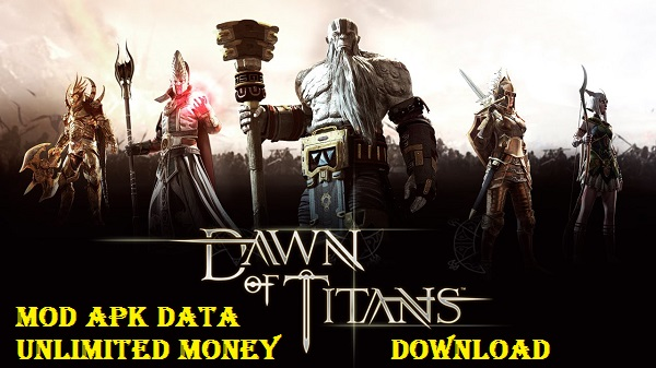 Download Dawn of Titans Mod APK DATA Unlimited Money Game