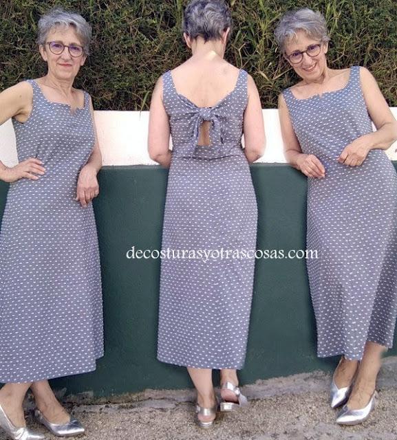 tutorial de costura para hacer un vestido largo