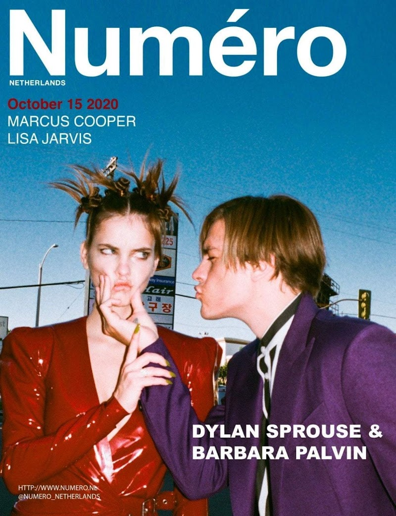 Barbara Palvin Featured in Numero Magazine - October 2020