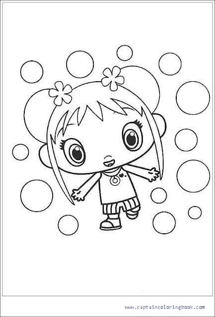 Ni Hao Kai-Lan coloring picture | 640x433