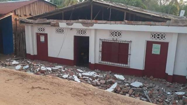 Temblor en el norte de Colombia dejó más de 40 casas afectadas