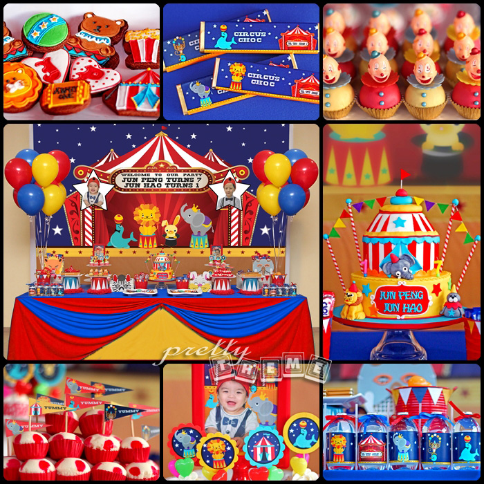 Pretty Theme Event Planner: Candy Buffet