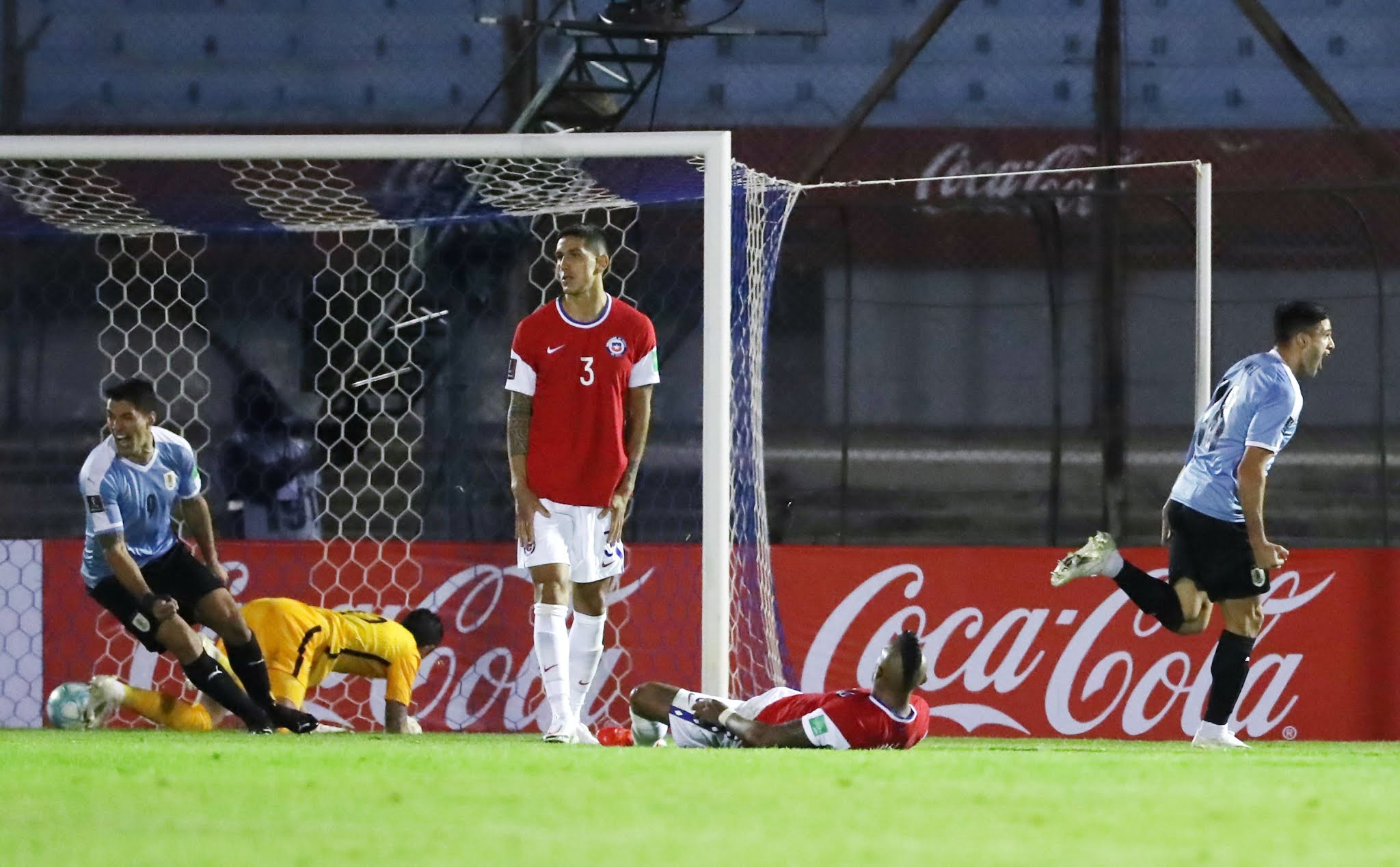 Uruguay Chile eliminatorias sudamericanas VAR