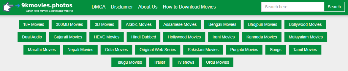 9kmovies 2021 - 9kmovies Illegal Download HD Movies Website, 18+ Movies, 300MB Movies, 3D Movies, Arabic Movies, Bengali Movies, Bhojpuri Movies, Bollywood Movies, Dual Audio, News About 9kmovies
