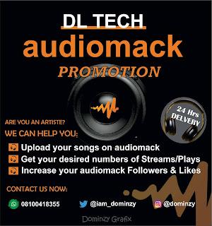 Audiomack music Promotion