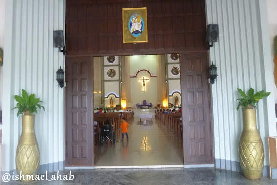 Doors of Christ the King Cathedral in Tagum, Davao del Norte