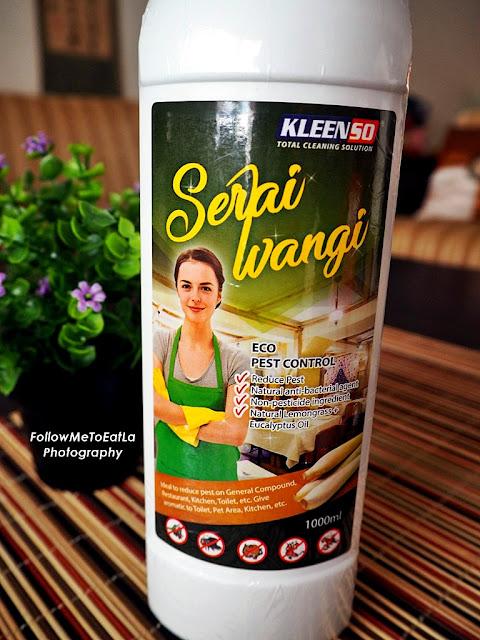 Kleenso Serai Wangi ECO Pest Control 1L RM 10.90