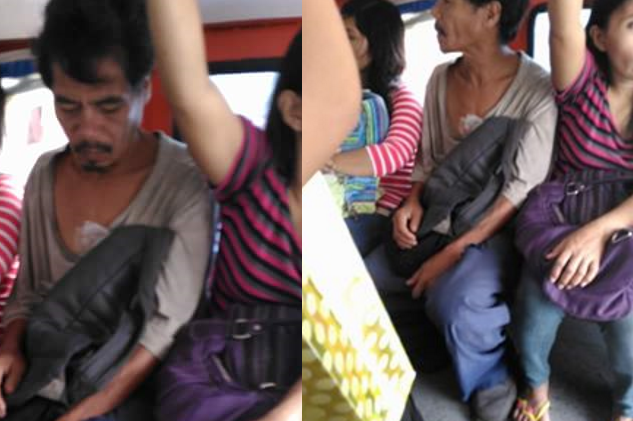 "VIRAL: ""Poor man"" criticized for attempting to hitch in jeepney ride"