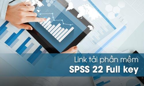 Download phần mềm SPSS 22 Full key bản quyền