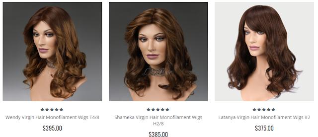 Lilyhair Monofilament Wigs