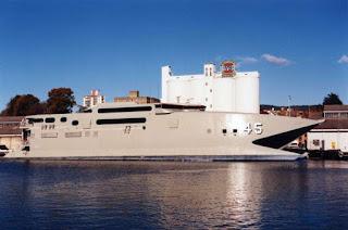 HMAS Jerves Bay - AKR 45