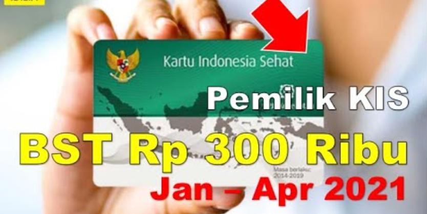 bst kartu indonesia sehat rp 300 ribu dari kemensos