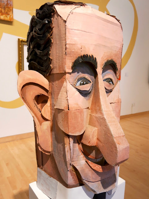 Cassie Stephens Contemporary Artist - Artist spends year woods creating beautiful sculptures