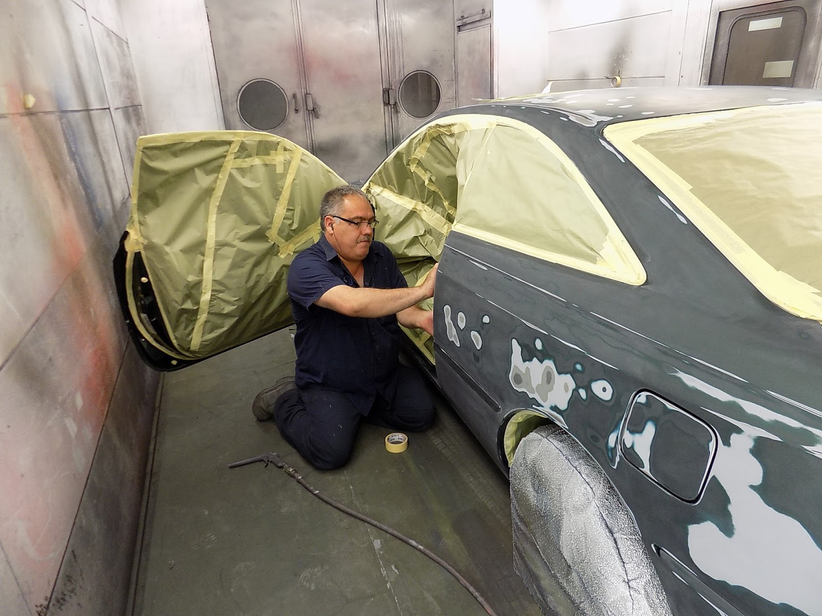 Auto body collision repair car paint in fremont hayward for What are the steps to painting a car